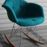 Кячалка бирюзовое кресло