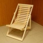 Липовое кресло для изготовления кресла