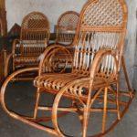 Лозовая кресла качалка