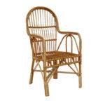 Лозовое кресло для обустройства дома