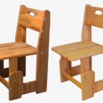 Маленькое кресло на основе бука