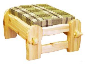 Маленькое кресло на основе сосны