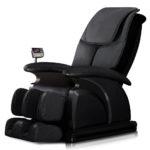 Массажное кресло, выполненное в черном колере