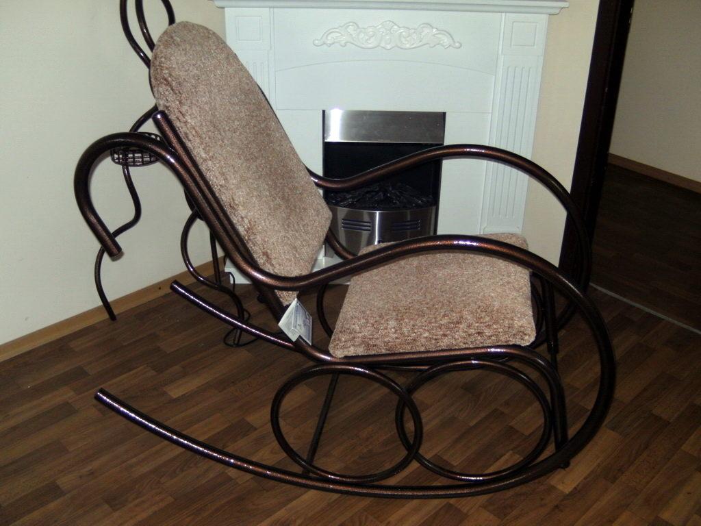 Как сделать кресло качалку из метала своими руками чертежи 162