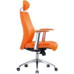 Многофункциональное кресло в оранжевом цвете