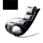 Модель черного кресла на основе металла