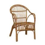 Модель кресла на основе лозы