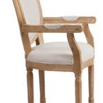 Модель кресла, созданное из осины
