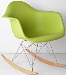Модель яркого кресла на основе пластика