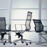 Модели современных кресел, созданных из сетки