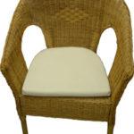 Мягкое кресло, созданное из бамбука