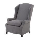 Мягкое кресло в сером цвете