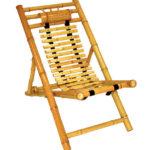 Небольшое бамбуковое кресло
