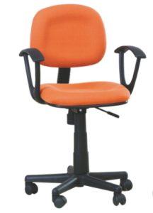 Небольшое кресло в оранжевом цвете