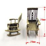 Недорогое и практичное бронзовое кресло