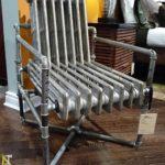 Необычные кресла из труб