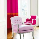 Нежный оттенок розового кресла