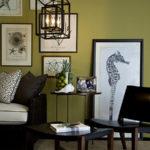 Оливковый цвет кресла для обустройства дома