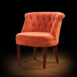 Оранжевая гамма кресла