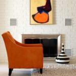 Оранжевый цвет кресла