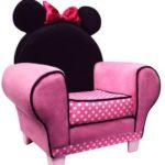 Оригинальное детской розовое кресло