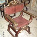 Оригинальное кресло из сосны