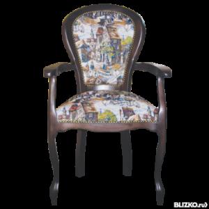 Оригинальное кресло на основе бука