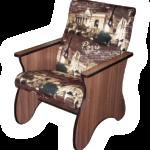 Оригинальное кресло на основе ламината