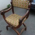 Оригинальное кресло на основе ореха