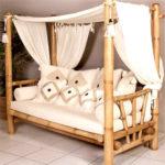 Оригинальное кресло, созданное из бамбука