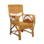 Оригинальное плетеное кресло из лозы