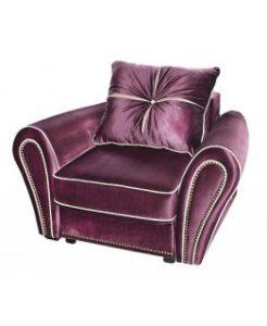 Оригинальное пурпурное кресло