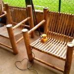 Оригинальные бамбуковые кресла