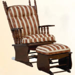 Оригинальный дизайн березового кресла