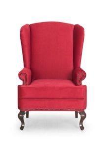 Оригинальный дизайн красного цвета