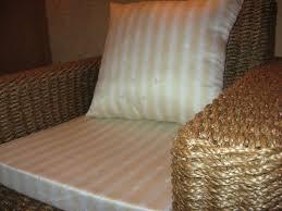 Плетеное кресло на основе каната