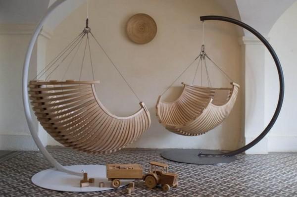 Подвесные кресла из каната