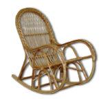 Практичное кресло на основе лозы