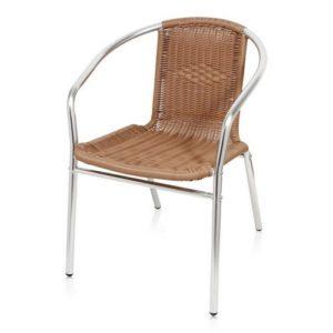 Практичное кресло, созданное из алюминия
