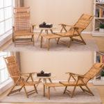 Практичные бамбуковые кресла