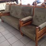 Практичные кресла в элегантном оливковом цвете