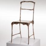 Применение бронзы для изготовления кресла