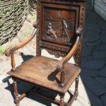 Применение дуба для изготовления кресла