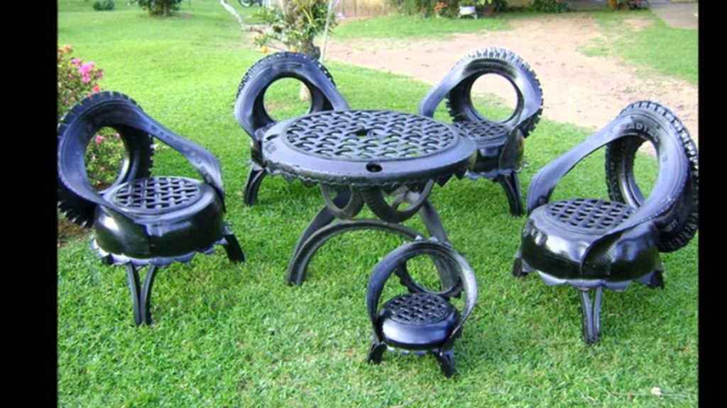 Применение колес для изготовления кресла