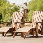 Применение кресла из лиственницы