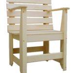 Привлекательное кресло из липы