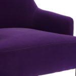 Приятное и красивое фиолетовое кресло