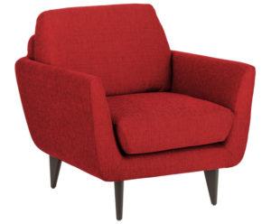 Приятный оттенок красного кресла