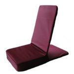 Ретритное бордовое кресло