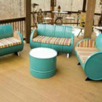 Шикарное кресло из бочки